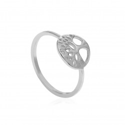 CZR1907 TREE OF LIFE RING SILVER 925