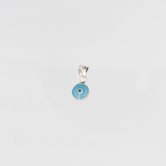 PENDANT 6mm TURQUOISE SILVER 925